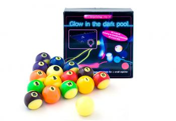 НАБОР АКСЕССУАРОВ ARAMITH GLOW IN THE DARK HOME KIT POOL 57,2ММ